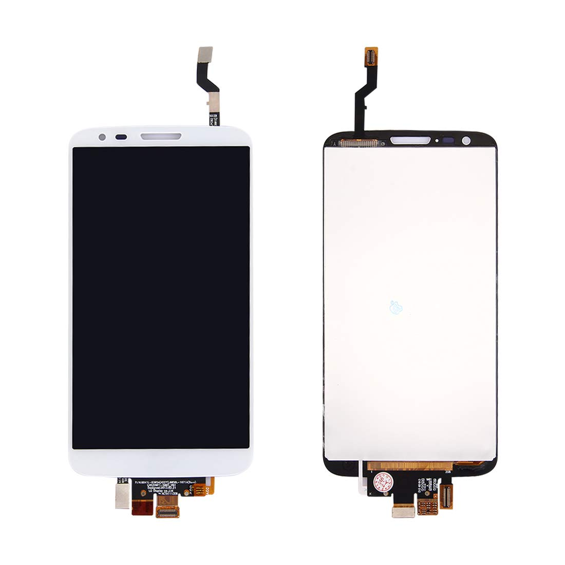 LCD Screen and Digitizer Full Assembly for LG G2 / D802 / D805(White)