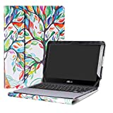 Alapmk Protective Case Cover For 11.6'' ASUS VivoBook Flip 12 TP203NA tp203na-uh01t Series Laptop(Warning:Only fit model TP203NA),Love Tree