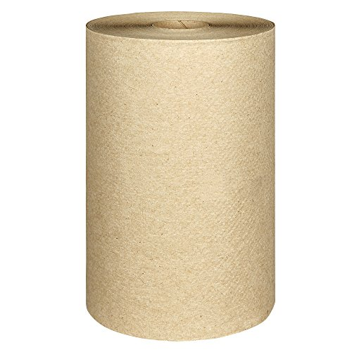 Scott Essential Hard Roll Paper Towels (02021), Natural, 400' / Roll, 12 Rolls / Case, 4,800' / Case ()