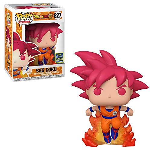 Funko Pop! 47865 Dragon Ball Super #827 Super Saiyan God Goku (2020 Summer Convention Exclus