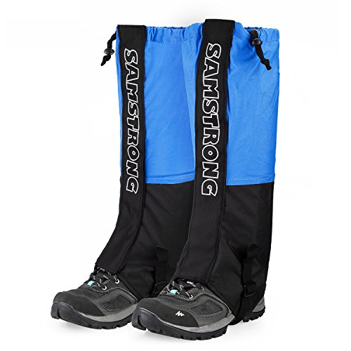 FANBX Waterproof Leg Gaiters for Men Woman Hiking Leg Gaiters, Breathable Legging Cover for Outdoor Research Camping Hiking Climbing Snowing Fishing Hunting Trimming Grass by FANBX