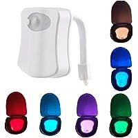 XKJFZ LED del Sensor de Movimiento 8 Color