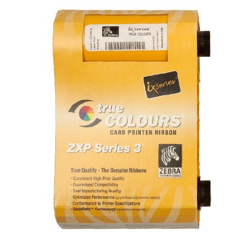 Color Cartridge Ribbon - Zebra Technologies 800033-840 IX Series Color Ribbon for ZXP3 Card Printer