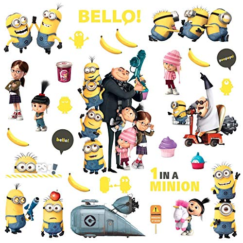 RoomMates Despicable Me 2 Peel And Stick Wall Decals]()