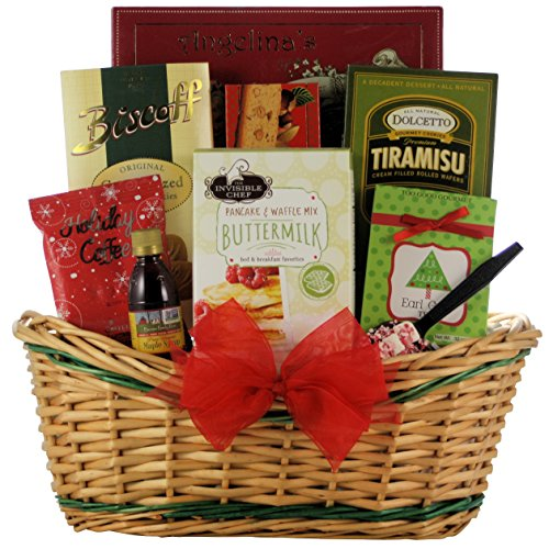 GreatArrivals Jolly Christmas Morning Breakfast Holiday Gift Basket, 5 Pound