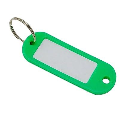 SBS Llave carteles | verde | llavero con etiqueta, para ...
