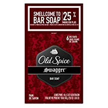 Old Spice Red Zone Swagger 6 Bar Soap, 24-Ounce/678g
