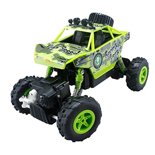 Gotd 1/20 2.4GHZ 4WD Radio Remote Control Off Road RC Car ATV Buggy Monster Truck, Green by Goodtrade8