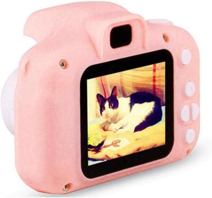 Kinderkamera Mini Digitalkamera Kinderspielzeug Spiegelreflexkamera Pink Pink
