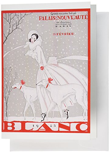 Nouvelles Images Holiday Boxed Note Card Set, Blanc Magazine Cover, 1923 (XDB 455) - Blanc Set