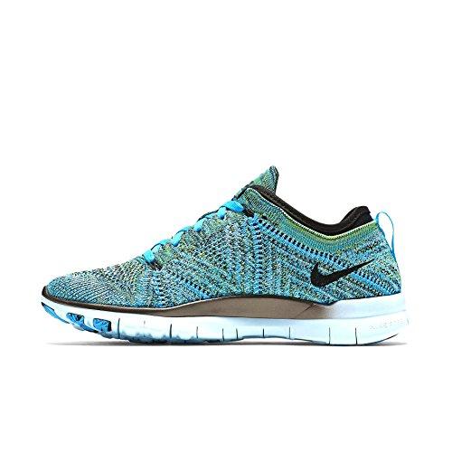 Nike Free Tr Flyknit Blue Lagoon / schwarz 718785-402 (Grö�e: 6)