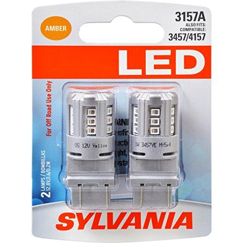 SYLVANIA 3157 Amber Contains Bulbs