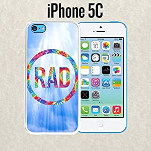 iPhone Case FUCKING RAD for iPhone 5c Plastic White (Ships from CA)