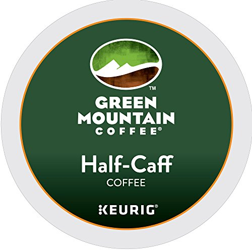 Green Mountain Coffee K-Cup, Half-Caffeine, 12-Count