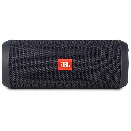 JBL Flip 3 Splashproof Portable Bluetooth Speaker  Black