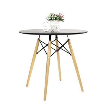 Joolihome Round Dining Table Eiffel Designer Dining Table 80cm Small