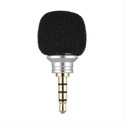 RRYM Micrófonos Celular Smartphone Mini Portátil Micrófono ...