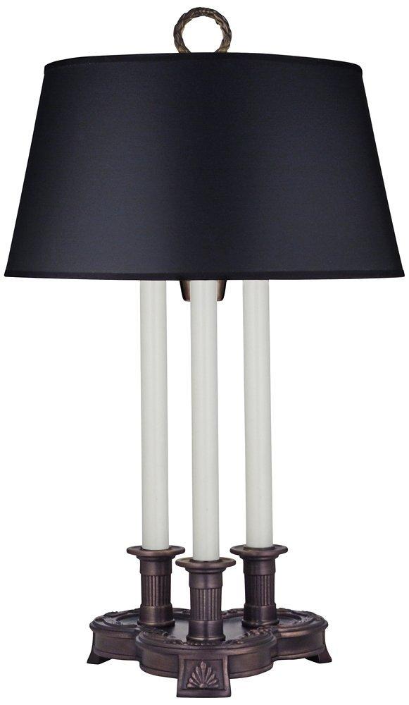 27'' 3-Way Desk Lamp Antique Old Bronze