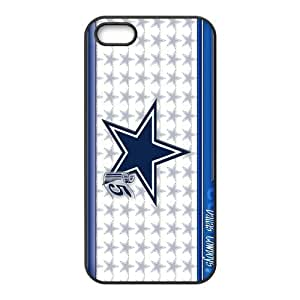 Custom Dallas Cowboys NFL Series Back Cover Case for iphone 5,5S JN5S-1893