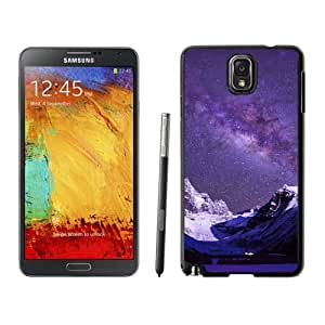 NEW Custom Designed For LG G3 Case Cover Phone With Milky Way Over Snow Mountains_Black Phone