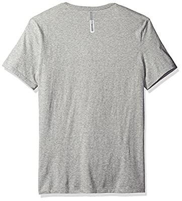 Calvin Klein Jeans Men's Short Sleeve Logo Flock Crew Neck T-Shirt