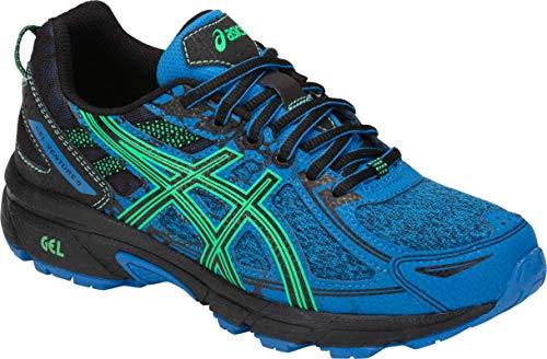 ASICS Gel-Venture 6 GS Kid's Running Shoe, Blue/New Leaf, 6