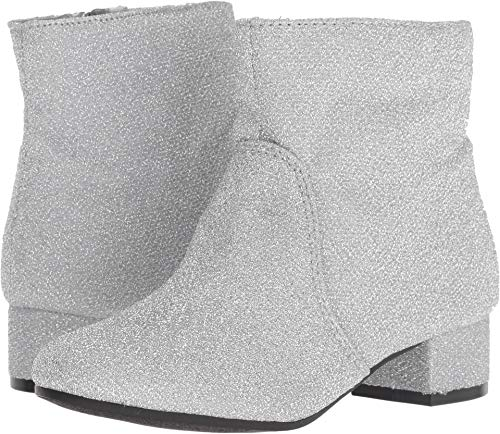 Nine West Girls' Alexius Fashion Boot, Silver Sparkle, M130 M US Little Kid for $<!--$27.99-->