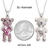 "DJ Hannah Necklace for Girls & Women ""Teddy"
