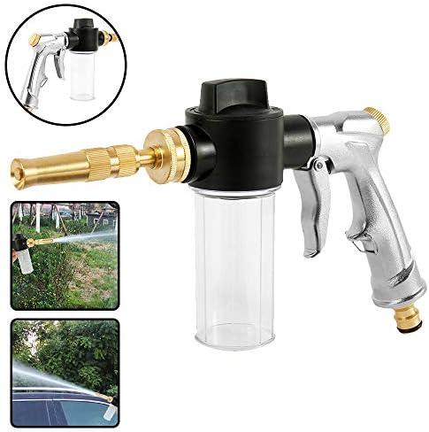 LXVY Schaumreinigungspistolen, Hochdruck-Wasserschlauch Rohr-Spritzpistole, ideal für Auto & Haustier Wasch- / Bewässerung Rasen und Garten