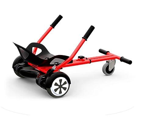 whinck W-Kart Rojo GOKART Accesorio Adaptable para Scooters ...