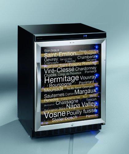 Weinkühlschrank Dometic 9103500449 B / 86.5 cm Höhe / 201 kWh/Jahr / Der Dometic D50 bietet zwei Temperaturzonen, individuell regelbar im Temperaturbereich von 5 °C bis 22 °C. / schwarz / 46 Flaschen