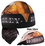Harley-Davidson Eagle Head Black Head Wrap HW122830