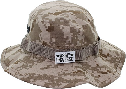Army Small Hat Pin - Army Universe Desert Digital Camouflage Tactical Boonie Bucket Hat Pin - Size XX-Large 8
