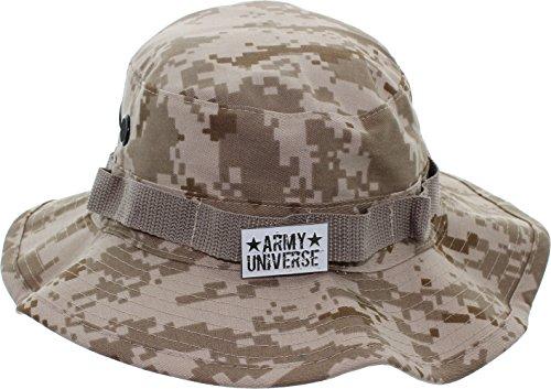 Army Universe Desert Digital Camouflage Tactical Boonie Bucket Hat Pin - Size Medium 7 ¼