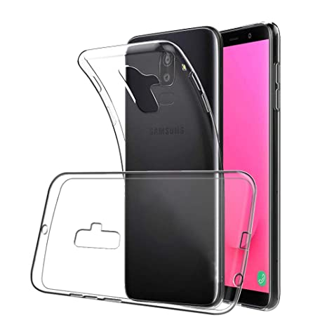 XTCASE Funda Samsung Galaxy J6 2018 Silicona Transparente, Ultrafina Suave TPU Carcasa para Samsung Galaxy J6 2018 Delgado Flexible Protectora Case ...