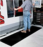 Anti-Static SmoothTech, 3' x 5', Black, Grounding Snap Installed