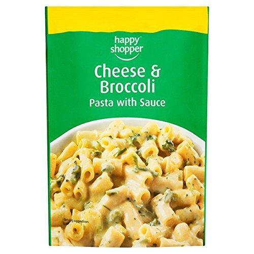 Comprador feliz brócoli pasta con salsa de queso y 120g (paquete de 8 x 120