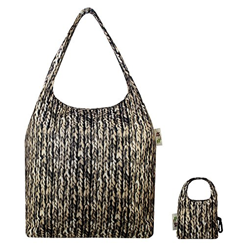 Asa Re Resistant Superior de Bolsa Beige Knit adulto Water Shopping Uz Unisex TFYxqwrET