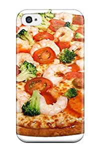 Tpu Shockproof/dirt-proof Pizza Cover Case For Iphone(4/4s)