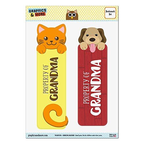 Set Glossy Laminated Cat Bookmarks