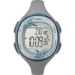 Timex Silicone Health Tracker Midsize Sports Watch (Grey)