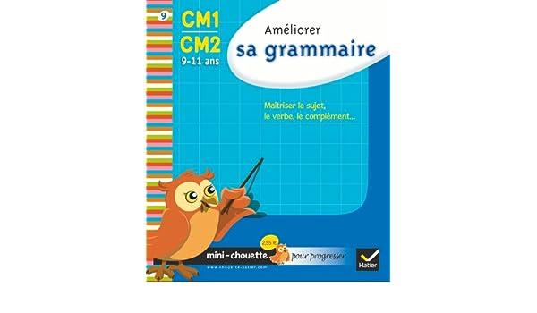 Mini chouette améliorer sa grammaire CM1/CM2 9-11 ans: Amazon.es: Lou Lecacheur, Valérie Marienval, Jean-Jacques Rodes: Libros en idiomas extranjeros
