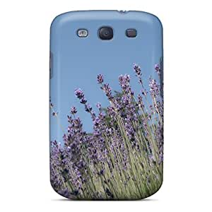 Durable Defender Case For Galaxy S3 Tpu Cover(lavendar)