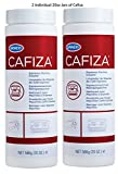 Urnex Cafiza Professional Espresso Machine Cleaning Powder 566 grams (2 Pack) - Made in USA
