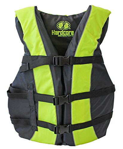- Hardcore Water Sports High Visibility USCG Approved Life Jackets for The Whole Family