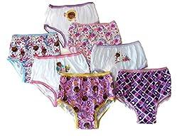 Disney Little Girls\' 7-Pack Doc McStuffins Underwear