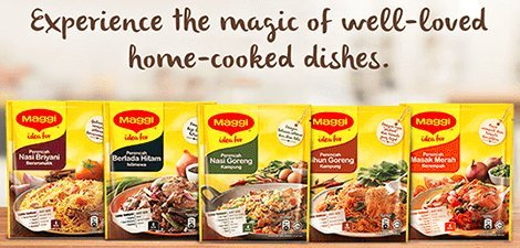 Amazon.com : Maggi All-In-One Cooking Mix/Seasoning With Fresh Onions & Garlic/Perfect Blend of Spices/Delicious Meaty Taste/Suitable For All Cooking Type- ...
