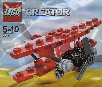 LEGO Creator: Biplano Establecer 7797 (Bolsas): Amazon.es ...