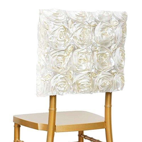 気宇ロゼット椅子キャップ/ square-top – アイボリー B01GTCKZV6