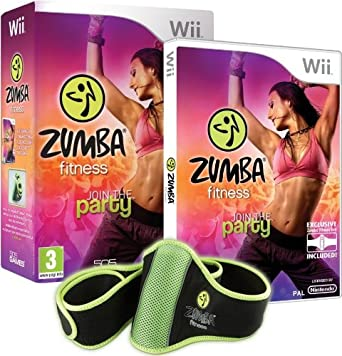 7dcd62e1e90 Zumba fitness   join the party + ceinture  import anglais   Nintendo ...